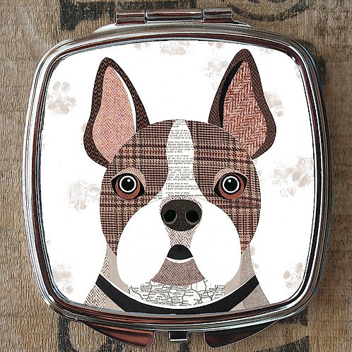 Frenchie Dog Compact Mirror