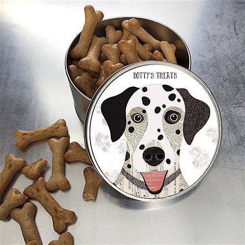 Dalmatian Dog Tin