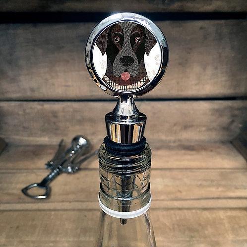 Labrador Dog Bottle Stopper