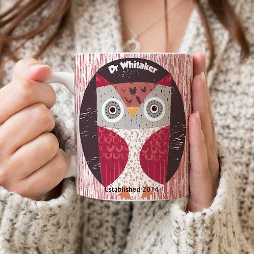 Owl in Hollow Mug