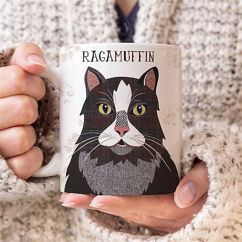 Ragamuffin Cat Mug