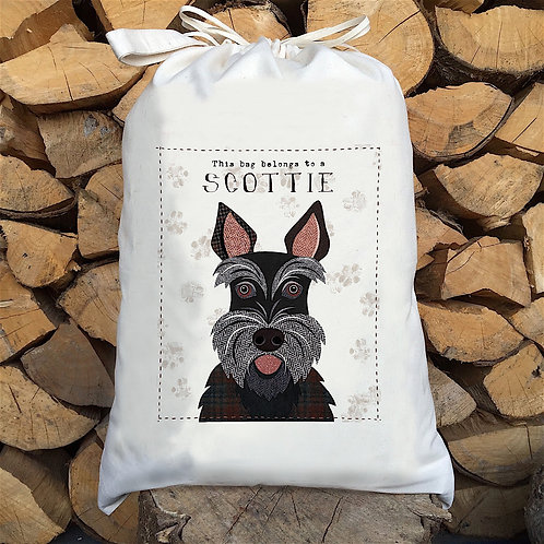 Scottie Dog Sack by Simon Hart
