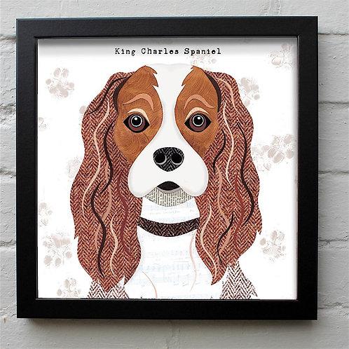 Cavalier King Charles Dog Art Print