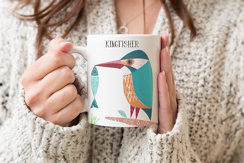 Kingfisher Personalised Mug