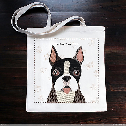 Boston Terrier Dog Bag