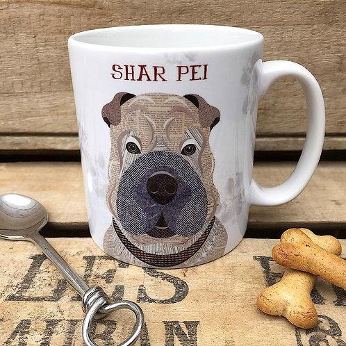 Shar Pei dog mug