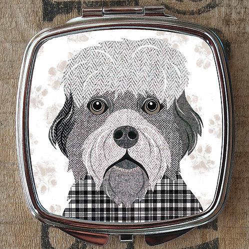 Dandie Dinmont Dog Compact Mirror