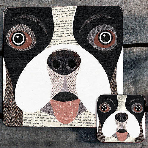 Boston Terrier close up Placemat