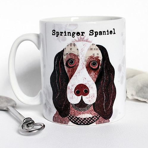 Springer spaniel dog mug