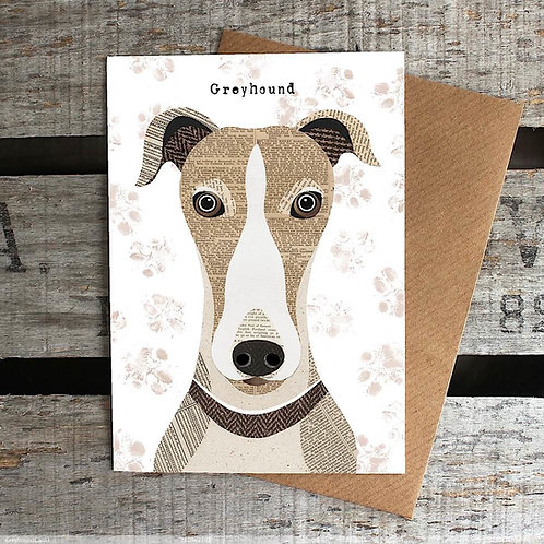 PAW26 - Greyhound Card
