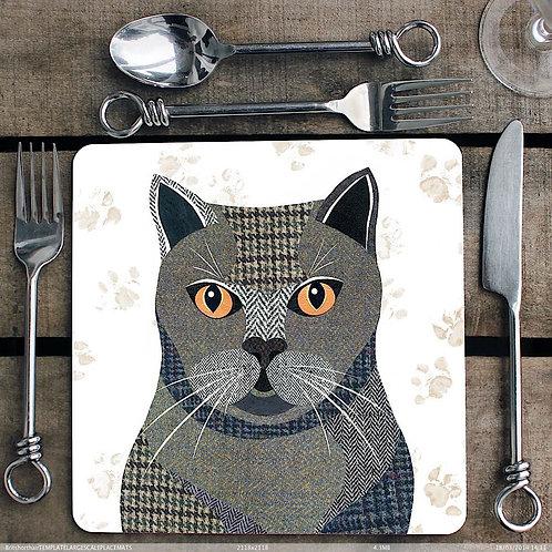 British Shorthair cat  Placemat