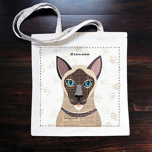Siamese Cat Bag