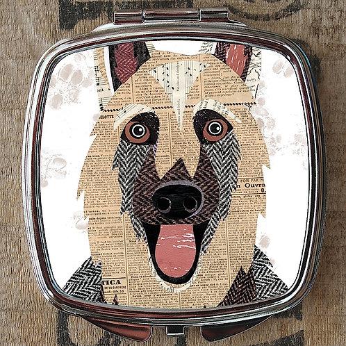 German Shepherd Compact Mirror