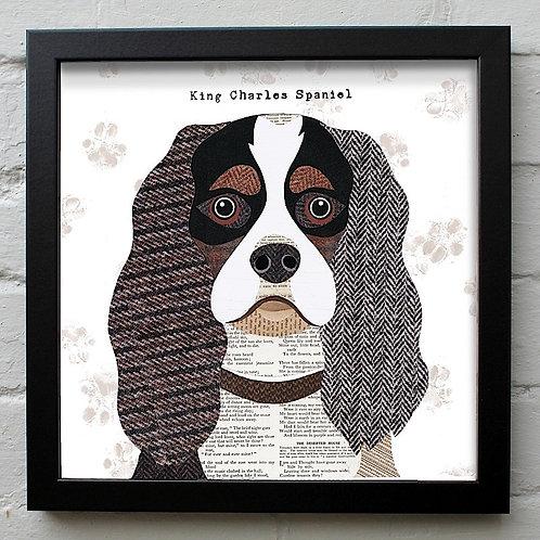 King Charles Spaniel Dog Art Print