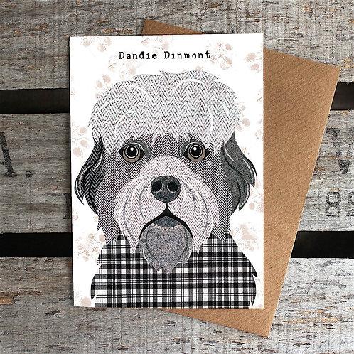 PAW58 Dandie Dinmont Card