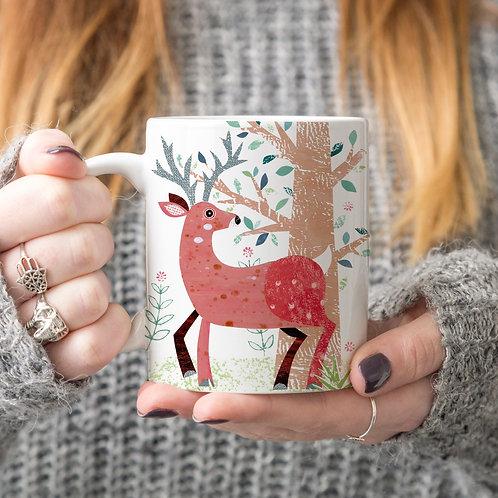 Stag Personalised Mug