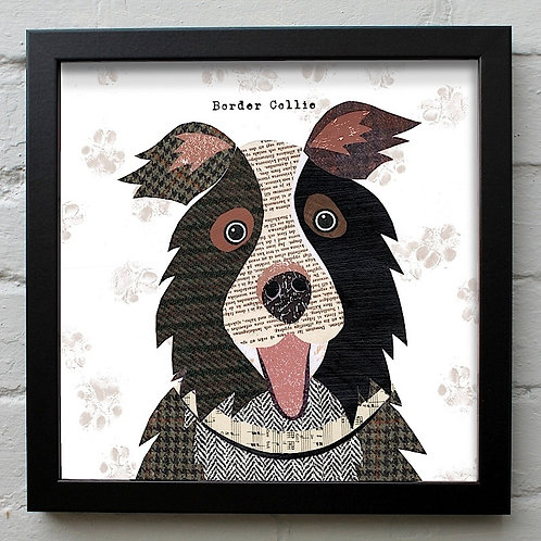 Border Collie  Dog Art Print