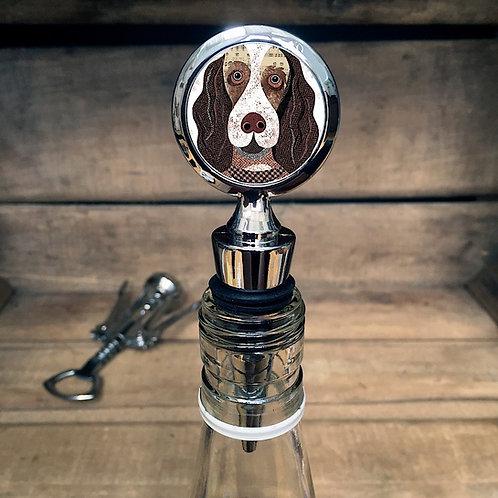 Springer Dog Bottle Stopper