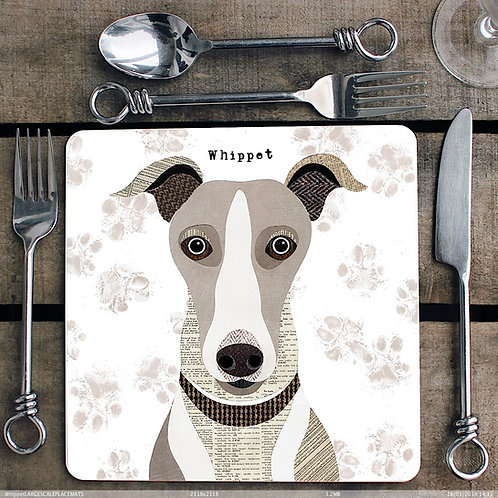 Whippet Placemat/Coaster