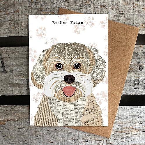 PAW13 - Bichon Frise Card
