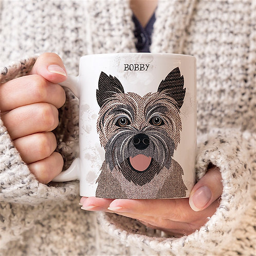 Cairn Terrier dog mug
