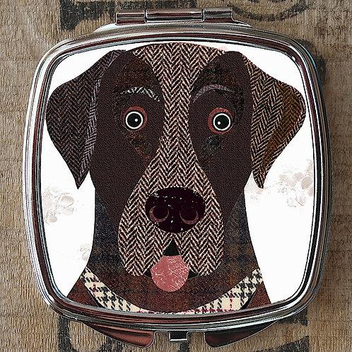 Labrador Compact Mirror