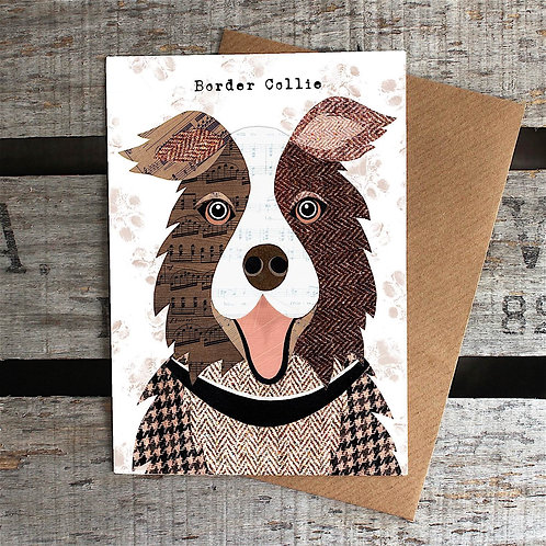 PAW55 Border Collie Card