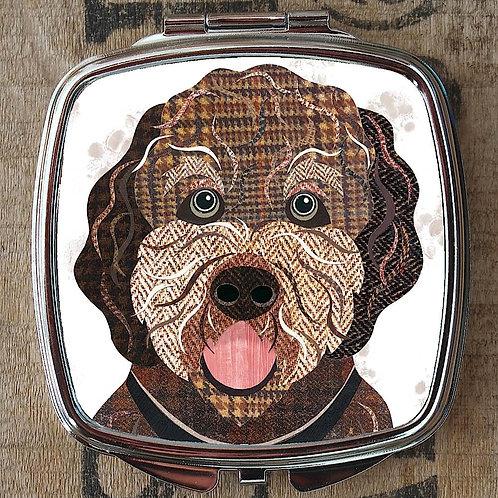 Cockapoo Dog Compact Mirror