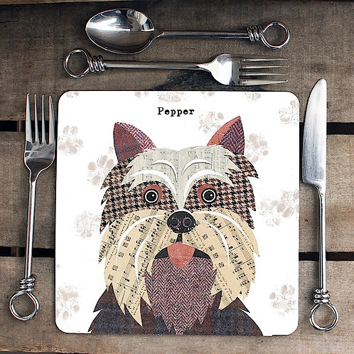 Yorkshire Terrier Placemat/Coaster