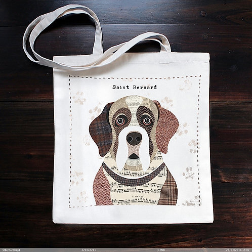 Saint Bernard Dog Bag