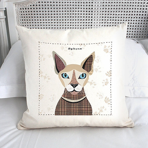 Sphynx Cat Cushion