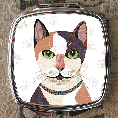 Japanese Bobtail Cat Compact Mirror