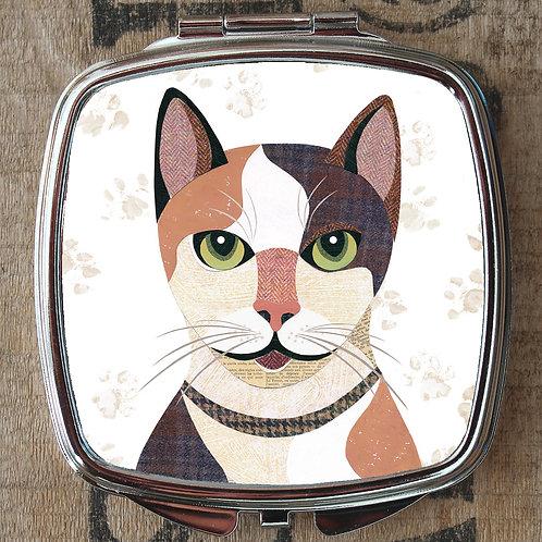 Japanese Bobtail Cat Compact Mirror