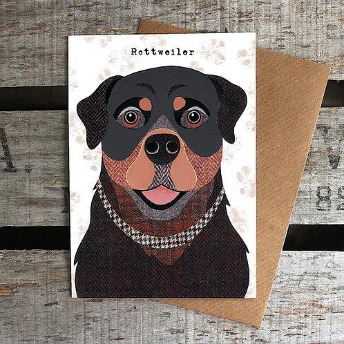 PAW50 Rottweiler Card