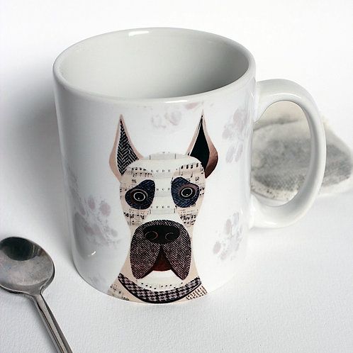 Great Dane dog mug