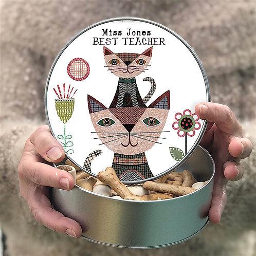 Personalised 'Little Kitten' Tin