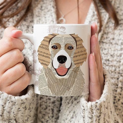 Golden Retriever dog mug