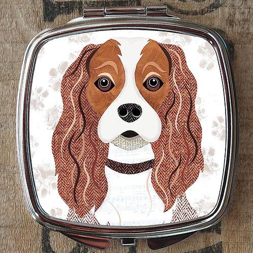 Cavalier King Charles Dog Compact Mirror