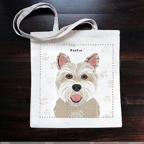 Westie Dog Bag