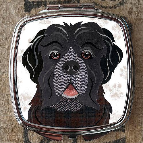 Newfoundland Dog Compact Mirror