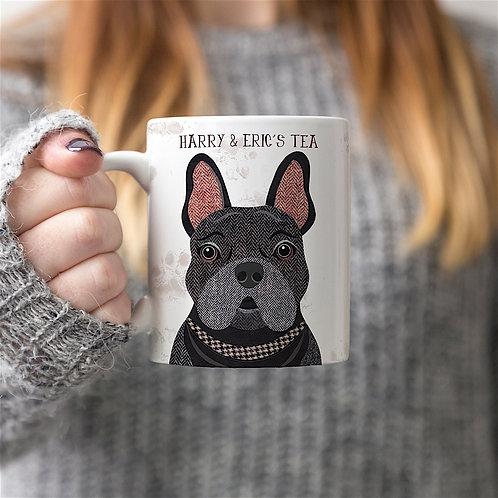 Black French Bulldog Mug