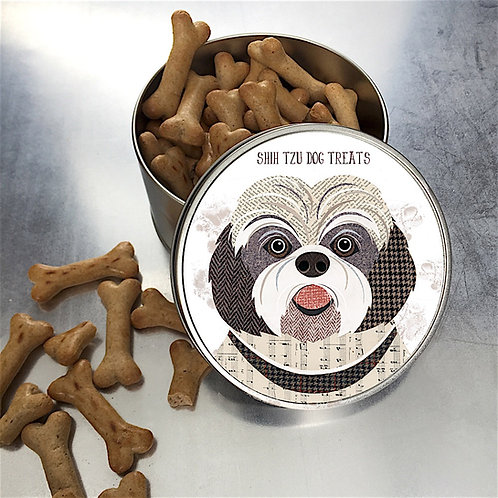 Shih Tzu  Dog Tin