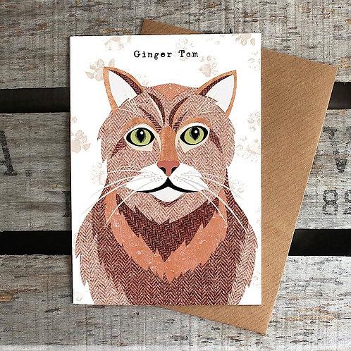 PURR 04 Ginger Tom Card