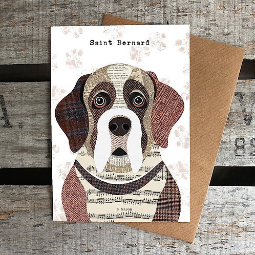 PAW31 - Saint Bernard Card