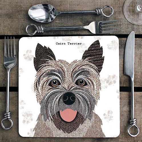 Cairn Terrier Placemat/Coaster