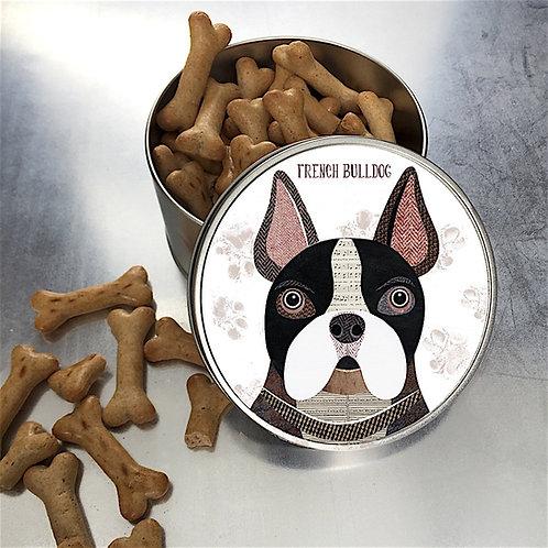 French Bulldog Tin