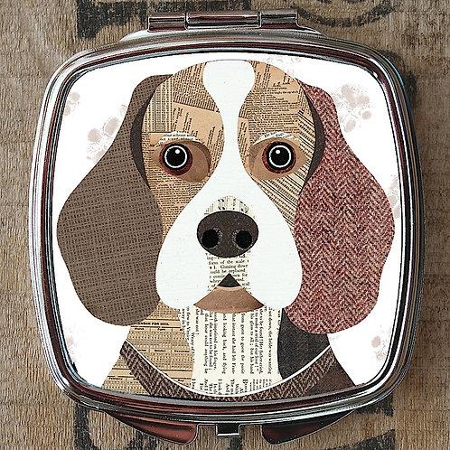 Beagle Compact Mirror