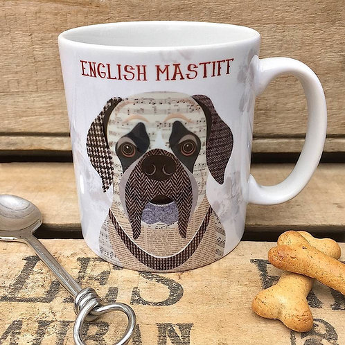English Mastiff dog mug