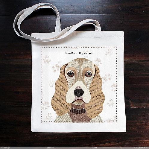Cocker Spaniel Dog Bag
