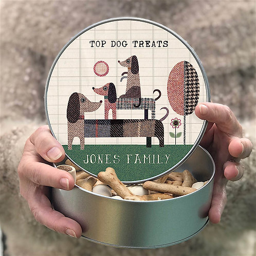 Personalised Top Dog Tin